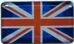 3D GEL sticker  SET of 2 'UNION FLAG'  Size approx 33.4x20mm.